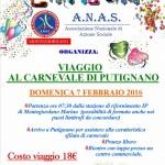 """A.N.A.S. Montegiordano organizza il """"Viaggio al Carnevale di Putignano"""""""