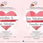 Torino: San Valentino fra le bancarelle dell'artigianato artistico autoprodotto