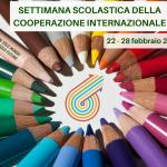 SETTIMANA SCOLASTICA DELLA COOPERAZIONE INTERNAZIONALE   22-28 febbraio 2016