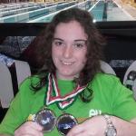 """Denise Fresta di """"Come Ginestre"""" conquista due argenti ed un record agli assoluti invernali di Reggio Emilia"""