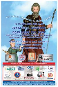 Festa S GIUSEPPE - Locandina