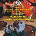 """Anas zonale Ciro Marina informa che l'ASD Free Body organizza """"Salta con noi donerai un sorriso ai bimbi dell'Africa"""""""
