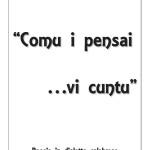 """Comu i pensai …vi cuntu"" libro di poesie in dialetto calabrese"