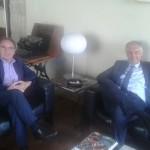 L'On.le Aldo Carcaci ed il portavoce ANAS incontrano il Rettore di Palermo