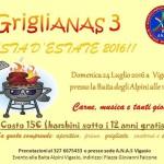 il prossimo 24 luglio Griglianas a Vigasio  in Veneto