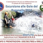 ESCURSIONE ALLE GOLE DEL RAGANELLO con ANAS Civita ed il patrocinio del Comune