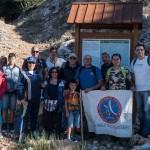 A.N.A.S. Collesano  a 2000 metri sul livello del mare su Pizzo Carbonaro