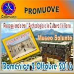 ANAS Collesano Passeggiata tra l'Archeologia e la Cultura Siciliana il prossimo 2 ottobre