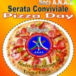 Serata conviviale ANAS organizzata dalla Presidenza in pizzeria con i Soci di Collesano