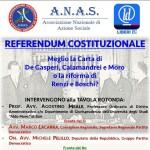 Riforma costituzionale i due fronti al confronto 10 novembre ore 18,00