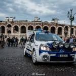 L'Associazione ANAS, l'Aci e due poliziotti veronesi al Due Valli per mandare un messaggio ai giovani.