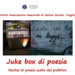 ANAS Puglia: sabato 15 ottobre ore 19,30 auditorium ANAS Via colajanni  27 recital poetico musicale