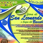 Fiera di San Leonardo e sagra del Baccalà 5 e 6 novembre a San Lucido