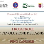 """A.N.A.S Piemonte organizza per il prossimo 18 dicembre 2017 alle ore 10 """"I Rosacroce e l'Evoluzione dell'Anima"""
