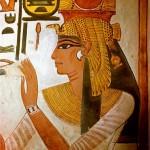 Le gambe della regina Nefertari?