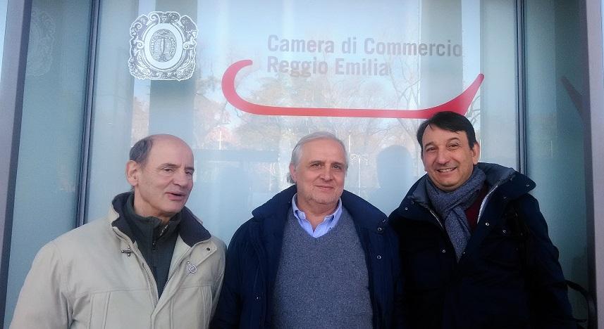 Il Presidente Regionale ANAS, con una delegazione martedì ha partecipato alla Camera di Commercio di Reggio Emilia al Laboratorio crescere in digitale.