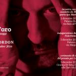 Douglas Gordon incontra il pubblico a Palermo giorno 2 e 3 dicembre
