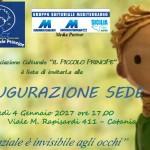 """Associazione Culturale """"IL PICCOLO PRINCIPE"""" domani inaugura la sua nuova sede a Catania"""