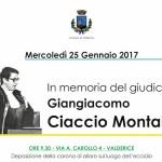 """Domani la commemorazione del magistrato ucciso dalla mafia e un dibattito al """"Centro di documentazione sulla criminalità organizzata"""""""