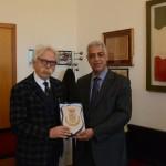 INCONTRO CON IL CONSOLE GENERALE DEL REGNO DEL MAROCCO. Il Sindaco Cristaldi ha ricevuto S.E. Abderrahman Fyad