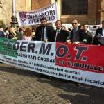 Anche la magistratura onoraria dice NO ALLA POLITICA DELLA PREPOTENZA, ed annuncia nuove proteste