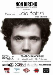 Memorial Lucio Battisti 5 marzo LOCANDINA