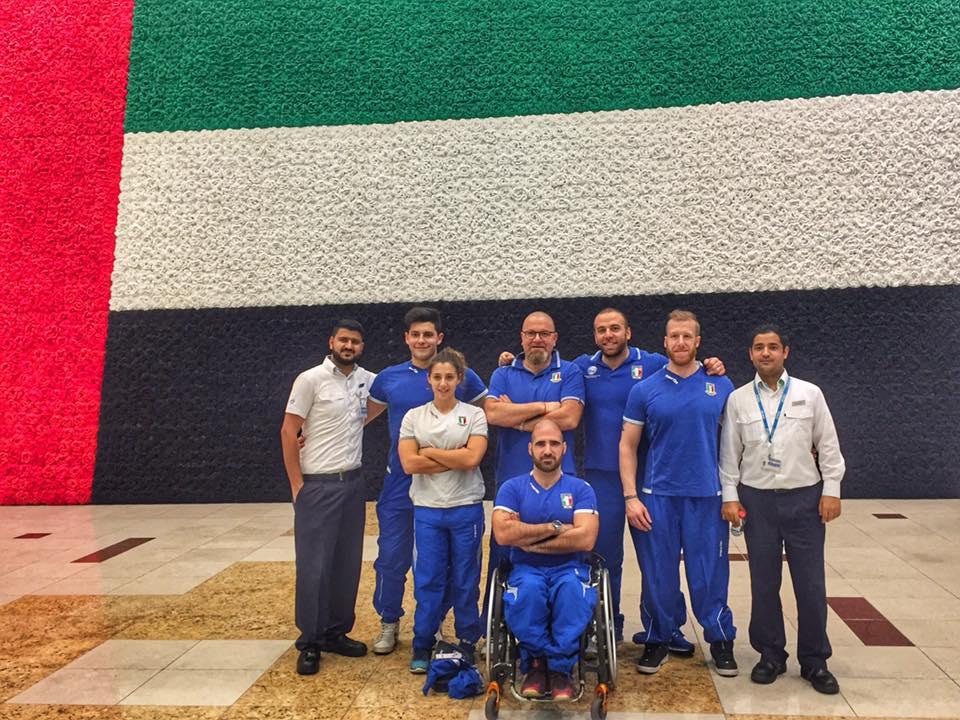 Dal 28 febbraio al via  l'8° Coppa del Mondo Paralimpica di Dubai, che vedrà protagonisti i pesisti azzurri