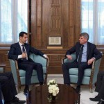 L'On.le Aldo Carcaci con la delegazione Belga ha incontrato il Presidente della Siria Assad ed ha visitato i luoghi