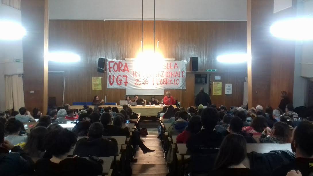 Occupata la Facoltà di Filosofia a Palermo:  Non possiamo accettare che lo sviluppo immaginato per i giovani sia il lavoro gratuito presso Mc Donald, piuttosto che presso qualunque altra azienda