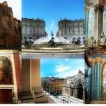 anta Maria degli Angeli e dei Martiri  realizzata  all'interno delle Terme di Diocleziano, progettata da Michelangelo e restaurata dal Vanvitelli