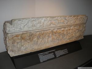 sarcofago mummia grottarossa per sito