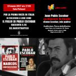 Juan Pablo Escobar presenta il suo nuovo libro a «Libri come» e in radio ad «Avanti Tutta»