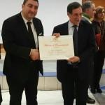 Portavoce ANAS Veneto premiato a Roma nella giornata della legalità per l'operato nel mondo del sociale.