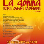 In occasione della giornata dedicata alla donna, è in programma per venerdì 10 marzo, alle 17.30, presso la Biblioteca comunale di Paceco, una conferenza dal titolo «La donna: ieri, oggi, domani».