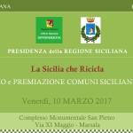 La Sicilia che Ricicla. Premio «Economia Circolare» al Comune di Marsala