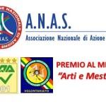 ANAS: Premio Internazionale al merito «Arti e Mestieri»