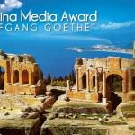 Taormina – Sgarbi presidente della giuria della quinta edizione del Premio Internazionale di Giornalismo «Taormina Media Award Wolfang Goethe».