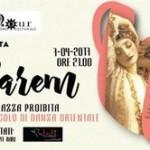 In scena lo spettacolo Harem «La terrazza proibita» – organizzato da Angela Cataldo presidente dell' Associazione «Al Noir»