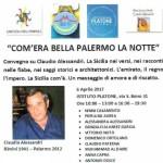 «COM'ERA BELLA PALERMO LA NOTTE»