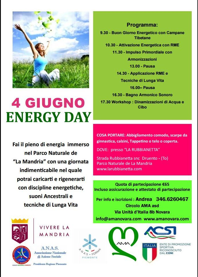 Anas Piemonte e Anas forma Piemonte promuovono la Energy Day