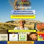L'Anas Zonale Collesano organizza il convegno «Agricoltura multifunzionalità e finanziamenti sistemi territoriali»