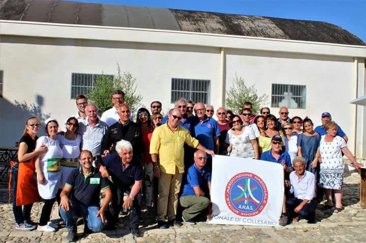 Svolta ieri ad Alia la visita alla fattoria didattica Ruralia- Marcato Bianco promossa dall'Anas Collesano
