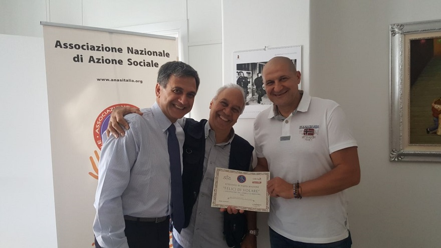 ANAS Lazio: «Felice di volare». È questo il tema che il 18 maggio è stato discusso nella sede regionale dell'A.N.A.S. Lazio.