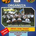 """Scillato: l'Anas promuove il concerto dell'orchestra di fisarmoniche """"Adliswil – Zurigo -venerdì 21 luglio"""