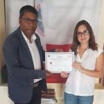 """Palermo: consegnato il riconoscimento al merito """"arti e mestieri"""" anche al Dott.  Bitrayya"""