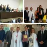 l'ANAS ad Assisi con i cavalieri della CCC in occasione della Consegna della Palma d'oro