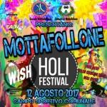 Mottafollone (CS): per il 12 agosto l'ANAS organizza Mottafollone Holi Festival 2017, un sabato all'insegna del relax