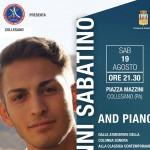 Collesano. sabato 19 agosto ospita, in concerto, Giovanni Sabatino talento del piano