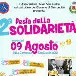San Lucido: L'ANAS organizza al 2 edizione della festa della Solidarietà il prossimo 9 agosto