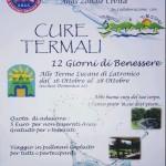 Cosenza:  l'Anas promuove 12 giorni di benessere da trascorrere alle Terme Lucane di Latronico